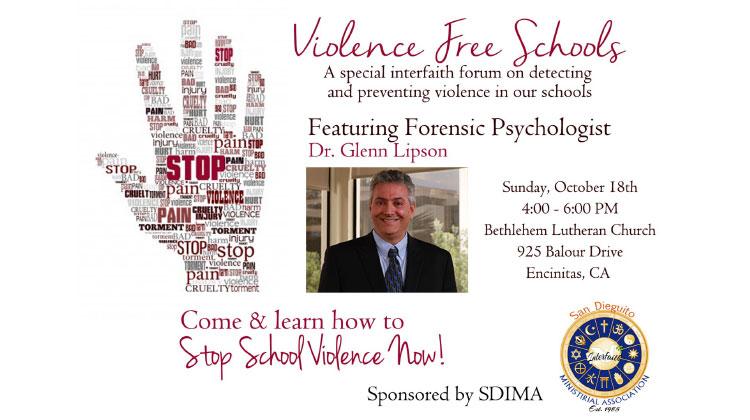 Dr. Glenn Lipson Violence Free Schools